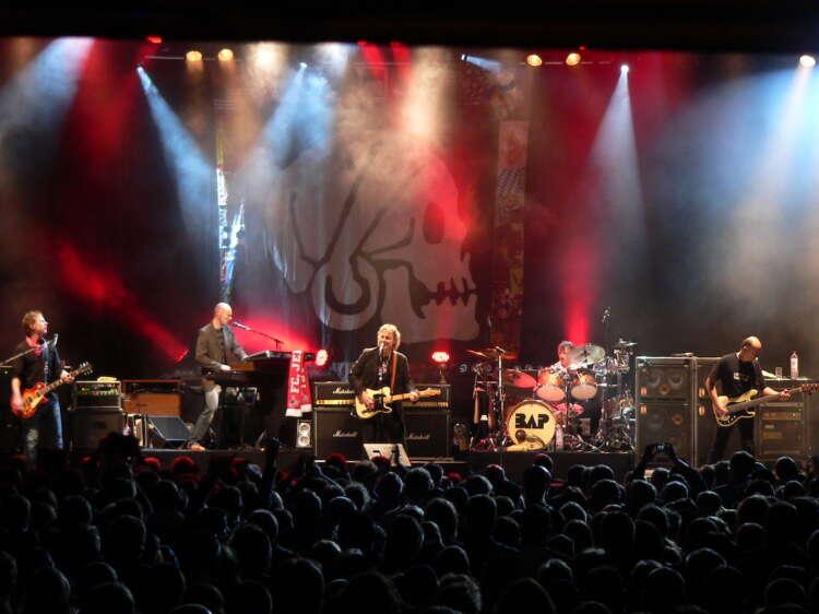 Sommer 2007: Eine Woche auf Tour mit BAP